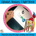 freebie 123 100 party and sight words Woksheets for Activi