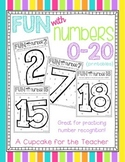 fun with numbers 0-20 {printables}