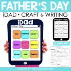 iDad {Father&#039;s Day Craftivity &amp; Letter}