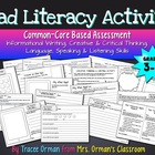 iPad Literacy Common Core Writing Activity {Grades 3-5}