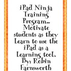 iPad Ninja Training Program