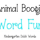 iPad, iPhone, and iPod Animal Boogie Kindergarten Word Fun Game