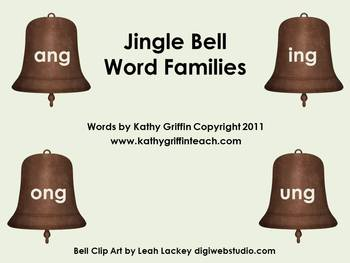 iPad iPod iPhone Jingle Bell Word Families