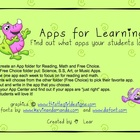 iPads - Apps for Learning