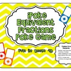 iPoke Equivalent Fractions Game