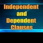 independent vs dependent clauses presentation