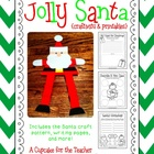 jolly santa {craftivity &amp; printables}
