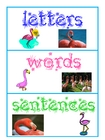 letter, word, or sentence sorts