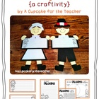 little pilgrim kids {a craftivity}