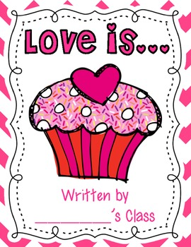 love is... a class book {free printables}