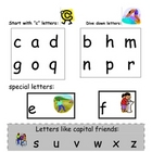 lower case letter handwriting kit