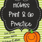 mClass Math PRINT AND GO Practice-2nd Grade-OCTOBER Edition