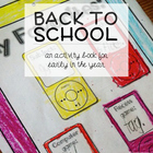 miYear {a back to school activity book for elementary grades}
