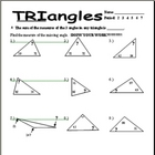 missing angles in triangles