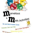 m&amp;m Math Activities -- 6 great activities!