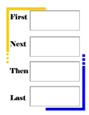 narrative graphic organizer for writing and reading