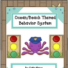 ocean beach surf themed stoplight behavior management system