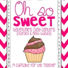 oh so sweet valentine&#039;s day centers {literacy &amp; math bundle}