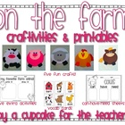 on the farm {craftivities &amp; printables}