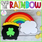 over the rainbow {a st. patrick&#039;s day craftivity}
