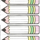 pencil nameplates