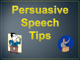 persuasive speech tips
