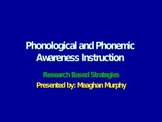 phonemic awareness and phonics ideas and strategies
