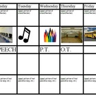 picture schedule (day)