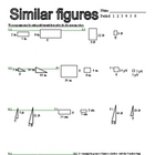 proportions: similar figures worksheet
