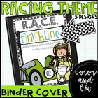 racing theme communication binder covers {freebie}
