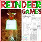 reindeer games {craftivity &amp; printables}