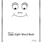 """see"" sight word coloring book"