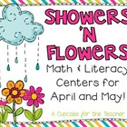 showers &#039;n flowers {math &amp; literacy centers for april and may}