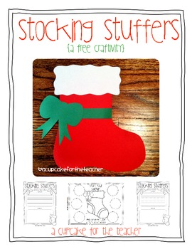 stocking stuffers {free craftivity}