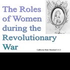 the roles of women during the revolutionary war