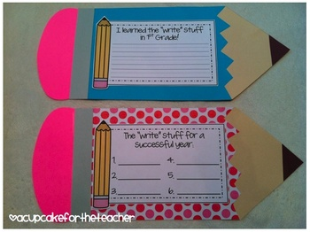 the write stuff {an end AND beginning of the year craftivity}