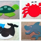 under the sea {craftivities &amp; printables}