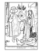 van Eyck.  Arnolfini and Wife.  Coloring page and lesson p