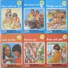 vintage KEY WORDS READING SCHEME key word SERIES play with