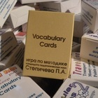 vocabulary gambling cards