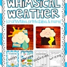 whimsical weather {craftivities, printables, &amp; more!}