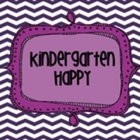 Emily Ortiz- Kindergarten Happy