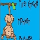 First Grade Monkey Business