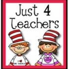 Just 4 Teachers
