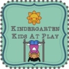 Kindergarten Kids At Play