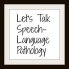 Lets Talk Speech Language Pathology