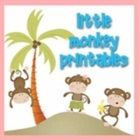 Little Monkey Printables