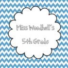 Miss Woodhull's 5th Grade