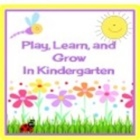 Play Learn and Grow in Kindergarten