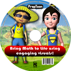 PrepToon - Bring Math concepts to life using 3D 